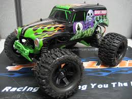 picture of grave digger monster truck grave digger upgrades pro line factory team