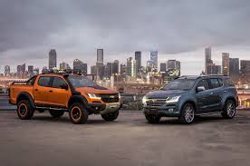 chevrolet colorado xtreme trailblazer premiere debut in thailand