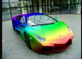 rainbow chrome lamborghini pin by borja martinez on coches pinterest cars lamborghini