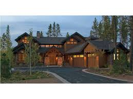 mountainside home plans home plan homepw77156 3738 square foot 4 bedroom 4 bathroom