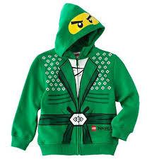 Ninjago Costume Lego Ninjago Costume Hoodie Boys 4 7 Christmas Present Ideas