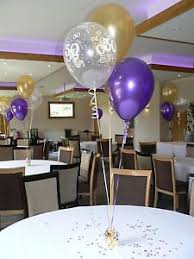 50th birthday balloons 50th birthday balloons 10 table decorations purple and gold or