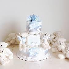 baby boy shower centerpieces polar cake with soft baby boy shower