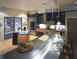 designer kitchen cabinet lighting for narrow kitchen layout with