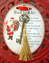 magic santa key how to and free printable christmas ideas and