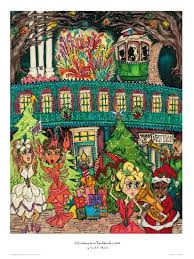 christmas posters city of natchitoches