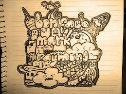 scratch notebook doodle art 3 by montanash illustration