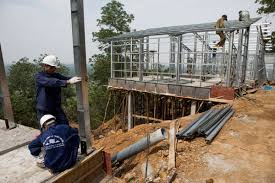 vo trong nghia brings low cost prefabricated s houses to northern