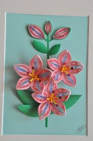 74 best quilling flowers lilies images on pinterest quilling