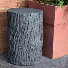 Tree Stump Side Table Tree Stump Table Wayfair