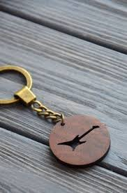 personalized wooden keychains keychain custom wooden engraved gift for friend