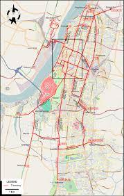 Calcutta India Map by Calcutta 1967
