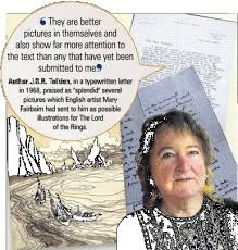 lord of the rings u0027 paintings unearthed otago daily times online news