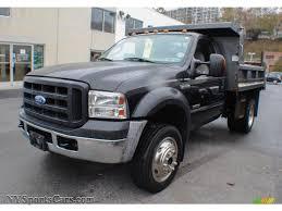 ford f550 for sale 2007 ford f550 duty xl regular cab 4x4 dump truck in black