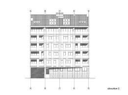 Residential Building Elevation Gallery Of Residential Building In Vase Stajića Street Kuzmanov