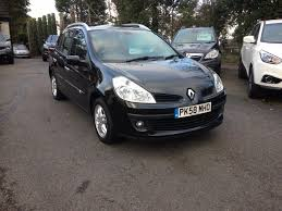renault clio 2002 black used renault clio black for sale motors co uk