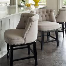 bar stools that swivel linen swivel barstools new furniture