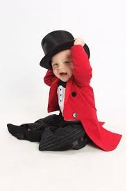 ringmaster costume tuxedo jacket fully lined with tails and