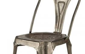 Lot De 4 Chaise Industrielle Métal Cuivré Indus Chaise Design Industriel En Métal Cuivré Empilable