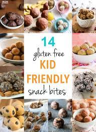 kid friendly gluten free snack bites