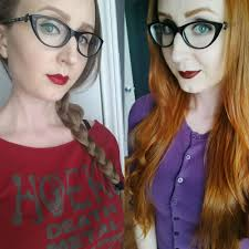 pennys no hair stlye becoming a redhead with overtone color vegan cruelty free