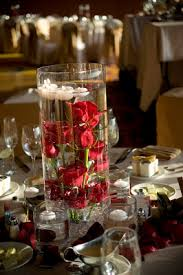 Red Roses Centerpieces Contemporary Red Rose Wedding Marriott Hotel In Marina Del Ray