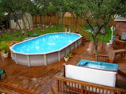 Small Backyard With Pool Landscaping Ideas by Furniture Captivating Backyard Above Ground Pool Landscaping