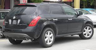 nissan murano cargo space file nissan murano first generation rear serdang jpg