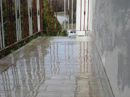 terrasse transparente étanchéité transparente d une terrasse carrelée