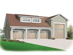 rv garage plans rv garage plan with attached 3 car garage 028g