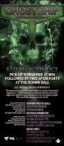 ra ghost ship followed by free after party zombie ball at tower