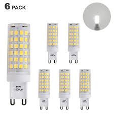 which light bulb is the brightest brightest g9 gu9 led small corn capsule light bulbs 11w 1000lm cool