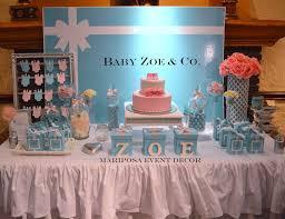 Tiffany Blue Baby Shower Cake - baby u0026 co baby shower baby shower