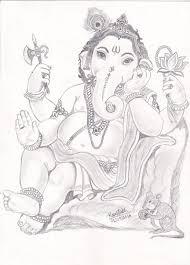 shree ganesh kaustubh samel drawings u0026 illustration religion