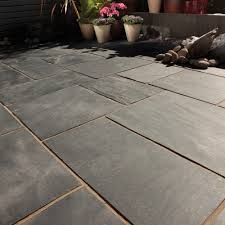 Slate Patio Pavers Slate Patio Paving Bradstone Simply Paving
