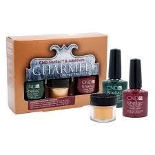 cnd shellac nail polish holiday collection charmed 2