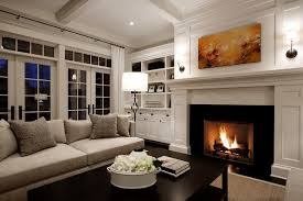 Traditional Living Room Interior Design - living room