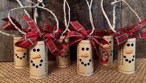 wine cork ornaments cork ornaments snowman cork ornament