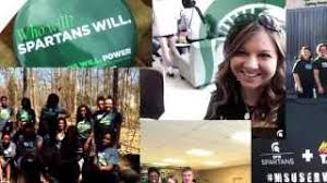 SPARTANS WILL  POWER Global Day of Service Michigan State University