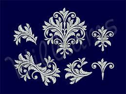 baroque machine embroidery set en embgallery