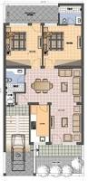 House Map Design 20 X 40 6161ground Floor Plan 25x55 News Jpg Bef Pinterest Duplex