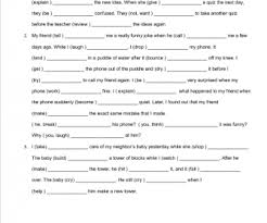 adjective clauses worksheet worksheets