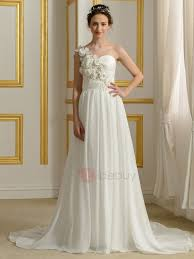 and delicate asymmetric one shoulder wedding dresses show