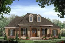 acadian french country home plan 4 bedroom house plan 141 1148