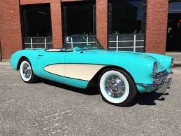1956 corvette convertible 1956 chevrolet corvette for sale classiccars com cc 971280