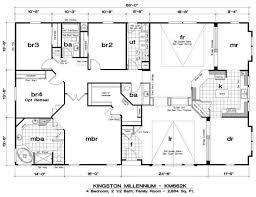 triple wide mobile homes floor plans amazing triple wide mobile home floor plans new home plans design