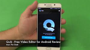quik free video editor for android review youtube