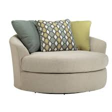 Swivel Accent Chair With Arms Bradfield Oversized Swivel Barrel Chair Swivel Barrel Chair And