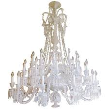 Baccarat Chandelier Large Thirty Six Arm Baccarat Zenith Chandelier Designed By