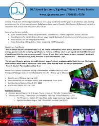 Booth Rental Agreement 8 Download Middle Schools Only Dj Extreme